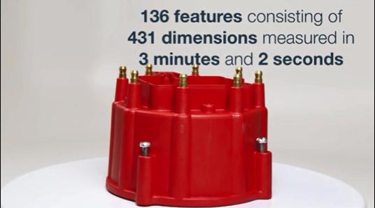 431の寸法から成る136要素を3分2秒で測定