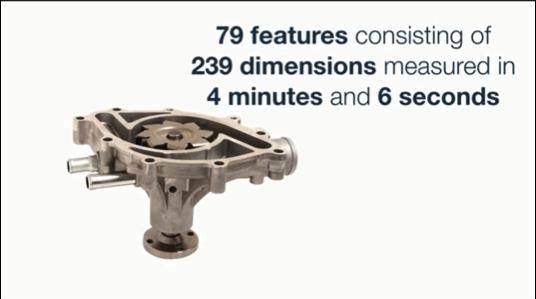 239の寸法から成る79要素を4分6秒で測定