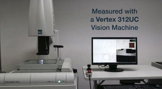 Vertex 312UCの画像で測定