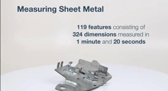 324の寸法から成る119要素を1分20秒で測定
