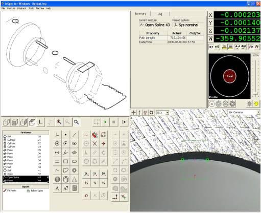 ロータリー測定画面